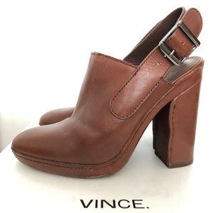 Cognac Vince Talya Booties